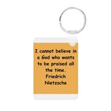 nietzsche gifts and apparel. Keychains