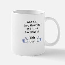 """Men's """"Dislike"""" Mug"""