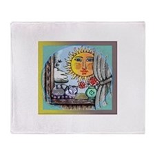 Window of Faith Throw Blanket