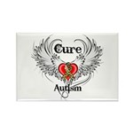 Cure Autism Rectangle Magnet (100 pack)