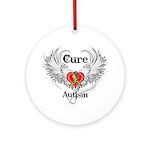 Cure Autism Ornament (Round)
