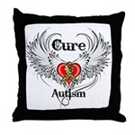 Cure Autism Throw Pillow