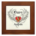 Cure Autism Framed Tile