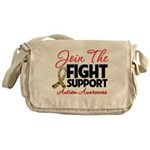 Join The Fight Autism Messenger Bag