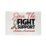 Join The Fight Autism Rectangle Magnet