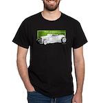 Old School Hot Rod Black T-Shirt