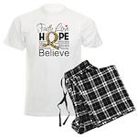 Faith Love Hope Autism Men's Light Pajamas