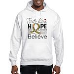 Faith Love Hope Autism Hooded Sweatshirt