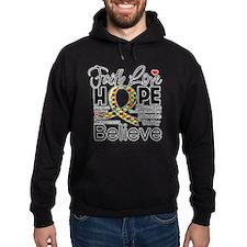 Faith Love Hope Autism Hoody