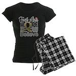 Faith Love Hope Autism Women's Dark Pajamas