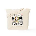 Faith Love Hope Autism Tote Bag