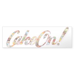 CakeOn! Bumper Sticker