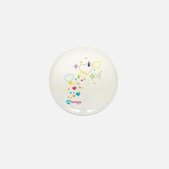 Sparkle MilkMommy Mini Button