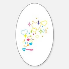 Sparkle MilkMommy Oval Decal