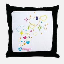 Sparkle MilkMommy Throw Pillow