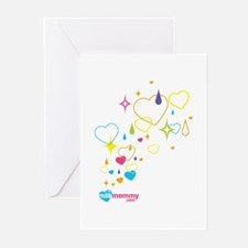 Sparkle MilkMommy Greeting Cards (Pk of 10)
