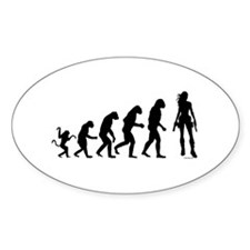 EVOLUTION OF WOMAN Decal