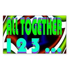 all together now 123 Decal