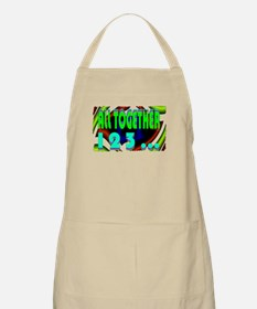 all together now 123 Apron
