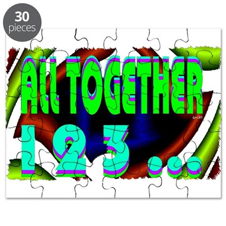 all together now 123 Puzzle