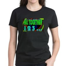 all together now 123 Tee