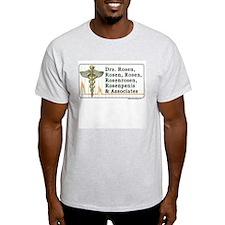 Dr. Rosenpenis Ash Grey T-Shirt