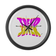 trend setter Large Wall Clock