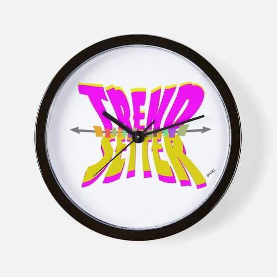 trend setter Wall Clock