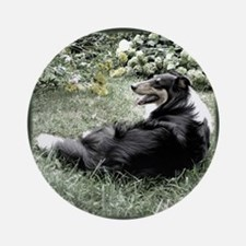 Collie Lovers Ornament (Round)