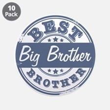 "Best Big Brother 3.5"" Button (10 pack)"