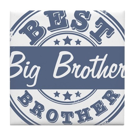 Best Big Brother Tile Coaster