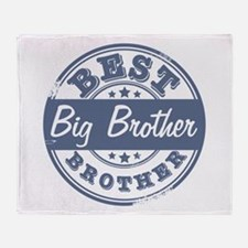 Best Big Brother Throw Blanket
