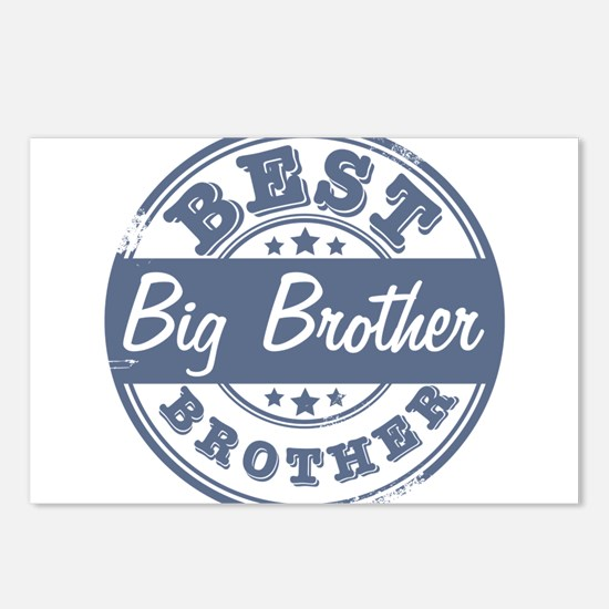 Best Big Brother Postcards (Package of 8)