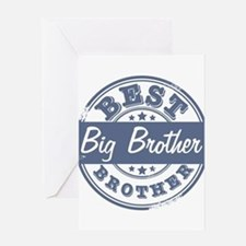 Best Big Brother Greeting Card