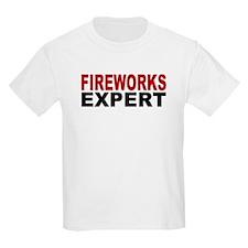 Fireworks Expert Kids T-Shirt