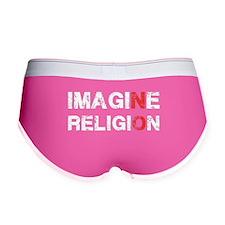 Imagine Religion Women's Boy Brief