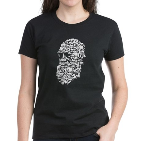 Darwin; Endless Forms Women's Dark T-Shirt
