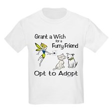 Grant Wish - Opt to Adopt Kids T-Shirt