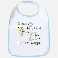 Grant Wish - Opt to Adopt Bib