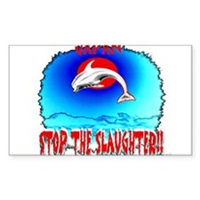 stop the slaughter Decal