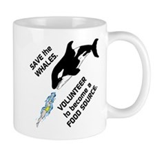Funny Save the Whales Mug