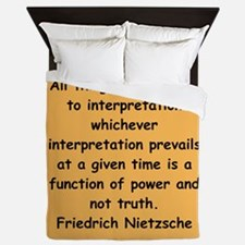 nietzsche gifts and apparel. Queen Duvet