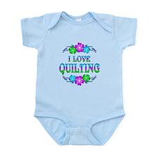 Quilting Love Infant Bodysuit