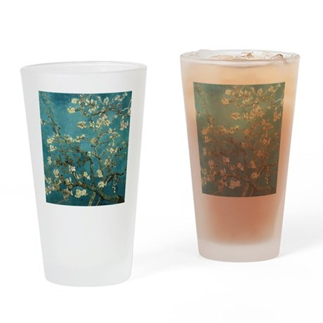 Van Gogh Almond Branches In Bloom Drinking Glass