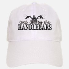 Grab Life By The Handlebars Baseball Baseball Cap