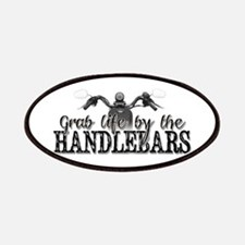 Grab Life By The Handlebars Patches