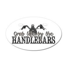 Grab Life By The Handlebars Wall Decal