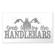 Grab Life By The Handlebars Decal