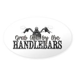 Grab Life By The Handlebars Decal