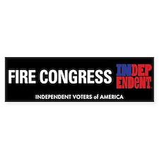 Fire Congress Bumper Bumper Sticker